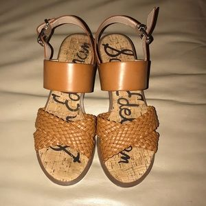 Sam Edelman brown(saddle) sandals